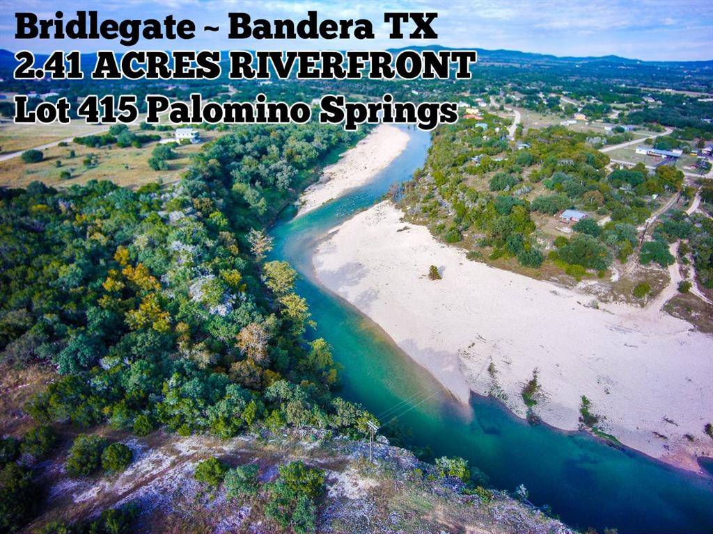 Lot 415 Palomino Springs, Bandera, TX 78003