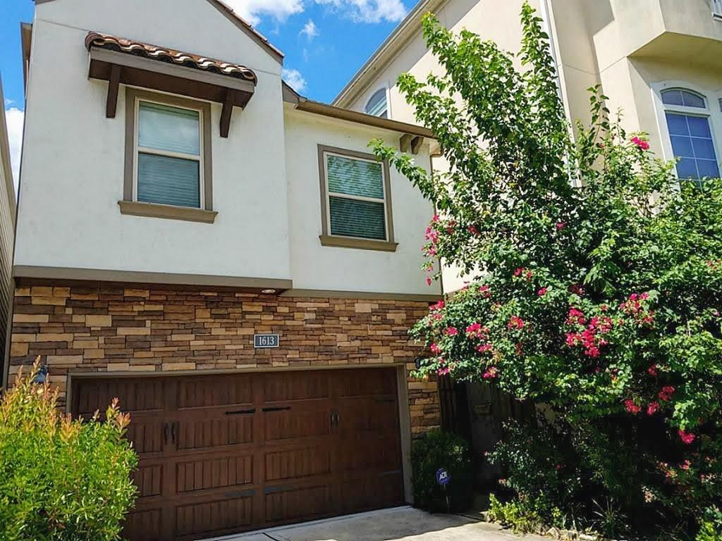 RARE two-level, 4 bedroom free-standing home with first floor living in the heart of Rice Military. Features private driveway with extra parking, fenced backyard with grass/patio & sprinkler system. Pets are case-by-case. All appliances and wine fridge included, granite counter tops in kitchen and bathrooms. Beautiful hardwoods and spacious walk-in closets. A must see!
