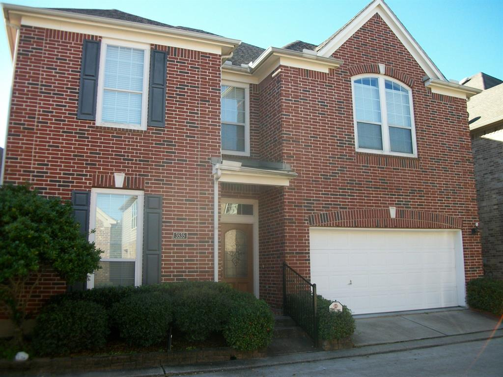Gated community Inside the Loop!  Wood floors downstairs, game room and halls.  Island kitchen has granite counters, stainless steel appl. custom built cabinets and walk-in pantry.  Theatre room has a projector, screen, and Bose surround sound speakers.  Den has wood burning fireplace and open to the kitchen and breakfast area.  Huge master suite has a coffered and spacious master closet.  All bedrooms have walk-in closets.  Carpet in all bedrooms and the theatre room. Water softener.  Covered patio.  Large storage closet in the house.   Near Jaycee Park and Memorial Park.  Jaycee park has a splash pad for the kids, play ground equipment, ball field and walking track.  Near downtown, the Heights and Galleria.