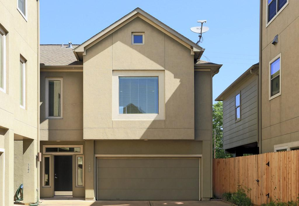 Immaculate 2 bedroom home with a true backyard in the Washington Corridor/Rice Military area * Located in a small gated community this home offers *** stained concrete entry, spacious bedrooms, large Living area with beautiful wood floors, high ceilings, open concept kitchen w/granite counters, cherry cabs, ALL appliances included, big master suite w/over-sized shower *** Super close to Washington Ave. w/ popular restaurants, bars, Memorial Park, Downtown & major freeways ** Also just across the street is the Nettbar, a social, active, dog-friendly and fun place to hang out. This cool indoor/outdoor bar was featured on Channel 13. Come see today!