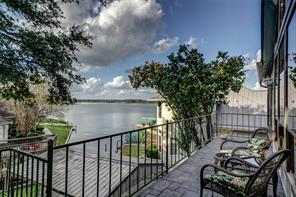 Views of Lake Conroe taken from the living room.