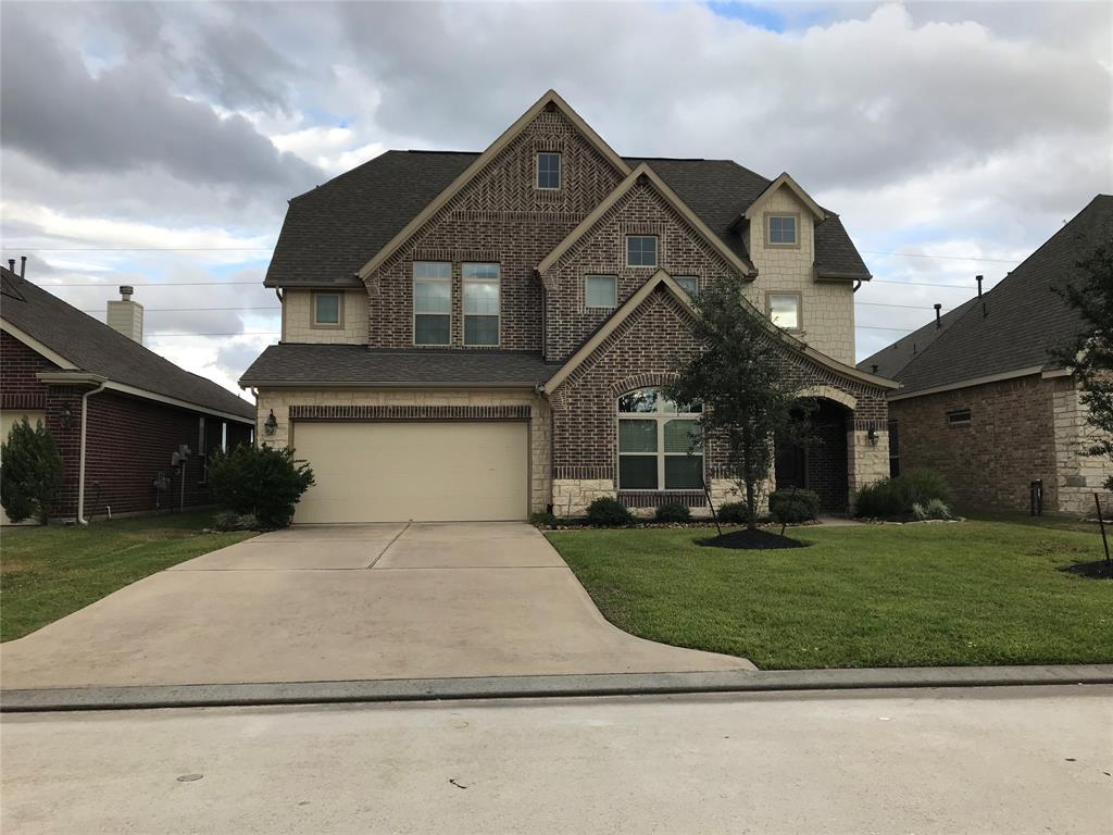 Beautiful Lennar Home. Home includes 4 bedroom with a study, media room, game room and great bright open areas with high ceilings. Master Bath has separate shower and whirlpool tub with dual sinks and large walk-in closet & more. Sprinkler System, washer, dryer and refrigerator included.
