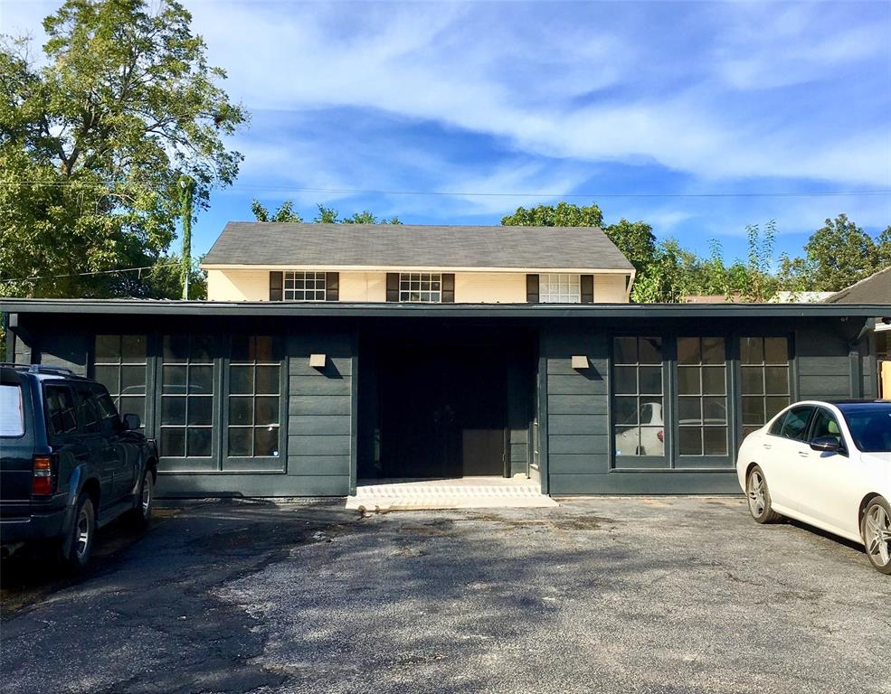 ATTN:  Small business owners. Avoid the daily commute!  Establish your business amid a full array of Montrose area amenities including B-Bike station, restaurants, galleries, shops, and more...Single Tenant LIVE + WORK (Mixed Use) property on a prime high traffic count roadway adjacent to the renowned MENIL COLLECTION. Single level Commercial Retail Storefront sits in front of extensively remodeled 2-story traditional vintage home with a contemporary twist.  Marble and stained cement floors down / Beautiful natural pine floors upstairs. Replaced Kitchen with stainless steel appliances & glass mosaic backsplash. Refrigerator, Washer, & Dryer included! Both residential baths completely redone + ADA Compliant half bath in the work space.  4th bedroom possible. Tandem parking lot.