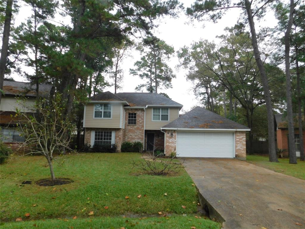 Updates galore! Fridge and Pool maintenance are included! Spacious, open floorplan w/ exceptional location in The Woodlands. Recent updates include: Flooring and paint; Granite in kitchen/baths; SS appliances including Fridge; plumbing & electrical fixtures; AC/ducts and Nest smart thermostat; much more! Available for immediate move - in.