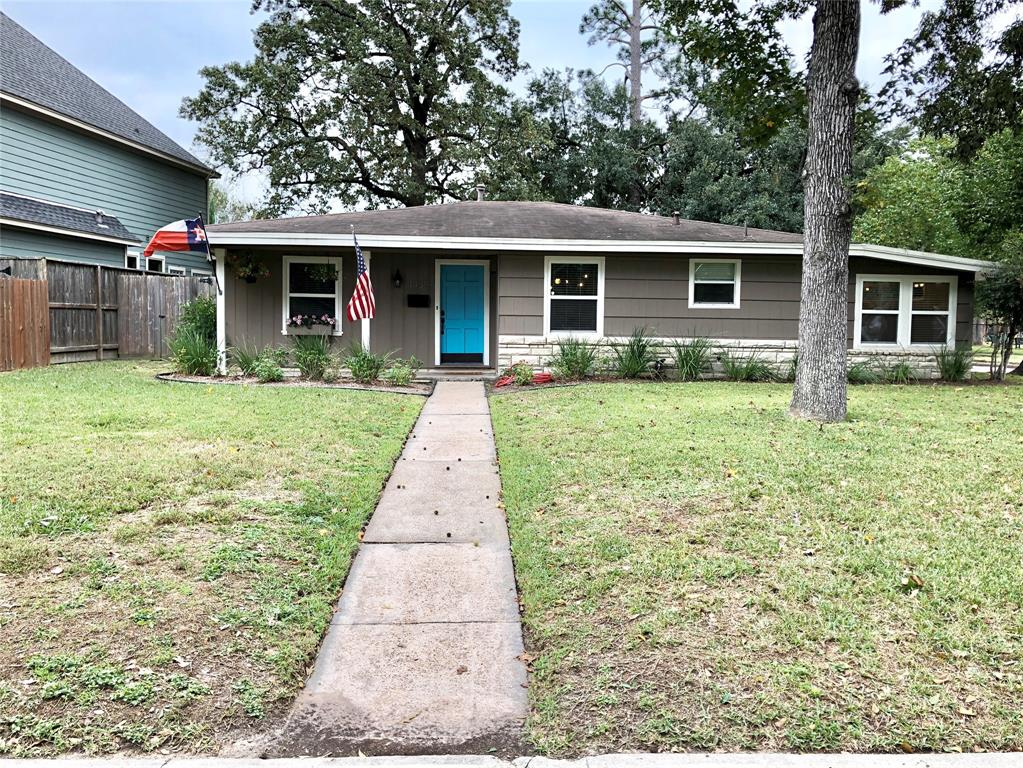 Darling Oak Forest home directly across the street from Oak Forest Elementary! This cozy bungalow has been remodeled with refinished hardwoods, quartz counters, stainless steel appliances and bathroom with double sinks. The double-pane windows offer great energy efficiency and an abundance of natural light. The flex room is multi-functional for laundry, mudroom, kid's playroom and/or exercise room. The spacious backyard is very private, offers mature trees for wonderful shade and access to the 2 car detached garage. Walk to shopping, dinning, and Starbucks! Schedule your appointment to view this home today!