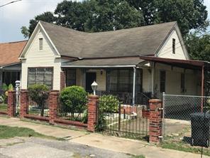 Houston Home at 1610 Chestnut Street Houston , TX , 77009 For Sale