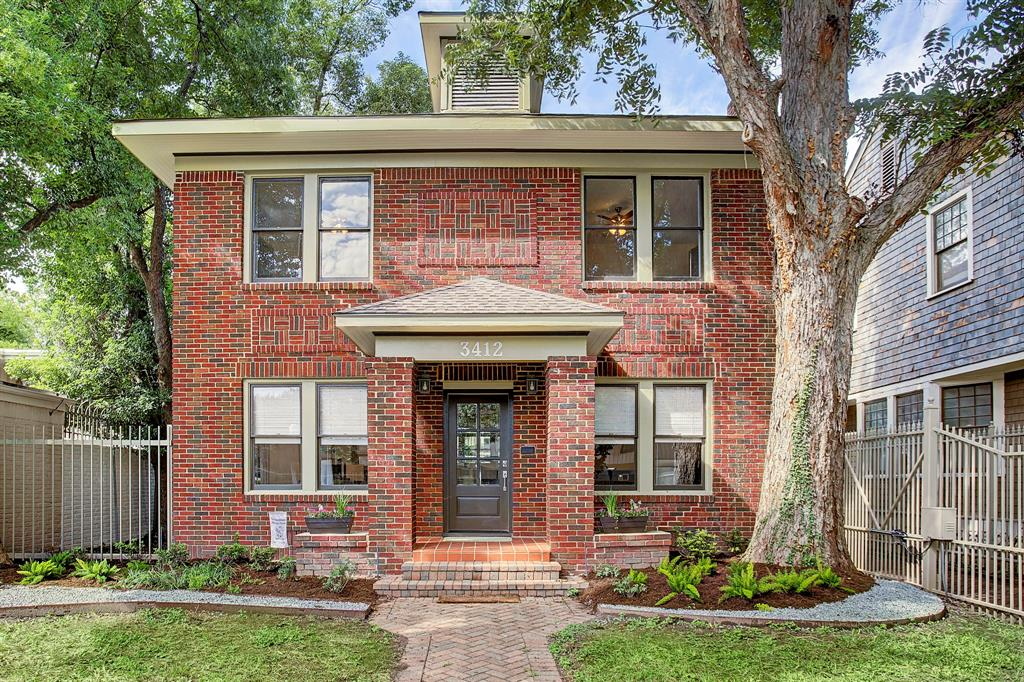 Have the best of both worlds with this 100-year old, newly-updated home in one of Houston's historic neighborhoods in the highly desired Montrose area. This home retains its vintage charm with gleaming, original hardwood floors, wood trim throughout the house and lots of light, and has all the amenities you would expect in a high end home. The back deck is the perfect place to enjoy the start or the end of the day. Just minutes drive from downtown, the Medical Center, Museum District, and walking distance to some of Houston's best restaurants, shopping, coffee houses, and nightlife. Garage studio apartment not included, but can be for additional rent. Both garage spaces included with the lease of the main house. Come take a look and move in before the holidays.