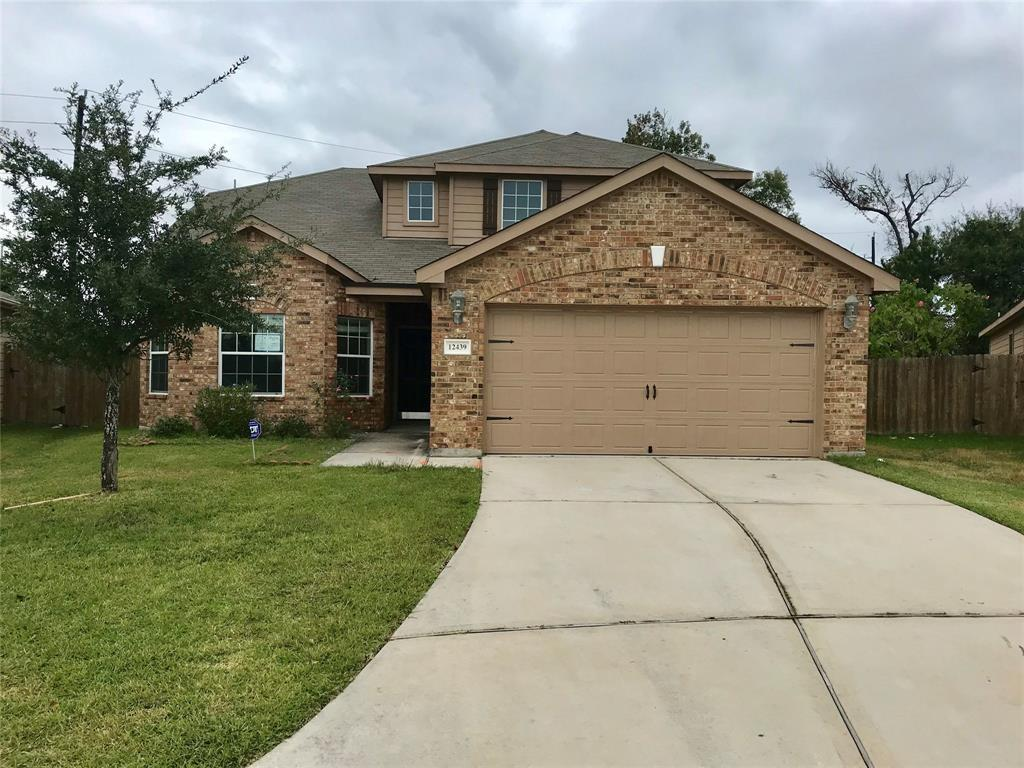 Great 4 bedroom home with 2 full & 1 half baths. Master bedroom located downstairs, master bath includes double vanities, shower with separate tub. Upstairs you will find 3 spacious bedrooms. Home is situated on cul-de-sac with over-sized lot & no back neighbors.