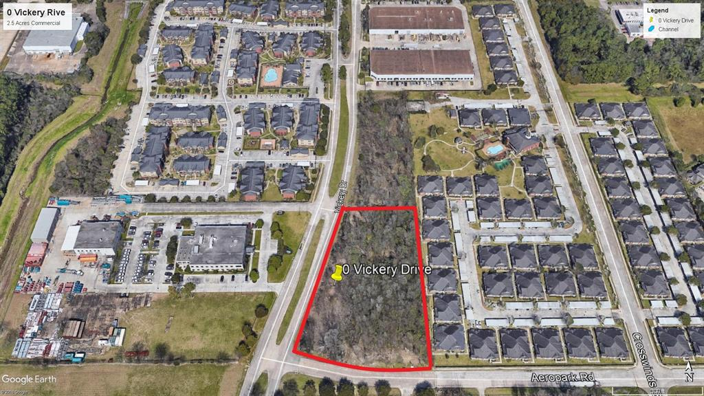 0 Vickery Drive, Houston, TX 77032