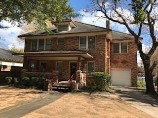 Historic home on Heights Blvd, remodeled in 2010.  Currently used as law office, can easily be converted to a residence.  Ample parking, large two story deck for entertaining and enjoyment.