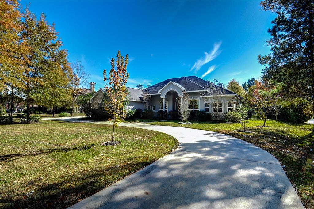 "SIMPLY THE BEST! You'll love this incredible Stucco/ Stone  Home on over 1 acre WATERFRONT LIVING! Open Floorplan offers Both Formals*Study* Island Kitchen w/ Rich Wood cabinets*Granite*Stainless appliances*all open to the Den + Breakfast with FULL Picture Butted Glass Window! Extensive Tile Thru-out!  Builders own Personal home with huge construction upgrades to Incl: Full Masonary Fireplace*200 ft Basement w/ 14"" concrete walls (perfect Safe room)* Full Home Generator* Master suite w/ sitting area + Executive Bath!wonderful Room sizes!5 full baths*Game room up with Balcony overlooking lake*Amazing Rock Waterfall POOL/SPA with Tropical landscape+ plenty of Green space behind the pool to enjoy! Fully Fenced back yard with Gate to one of the Best Lakes in Benders Landing+Walk to neighborhood park*Tennis*basketball! AMAZING! Call today for a private showing!"