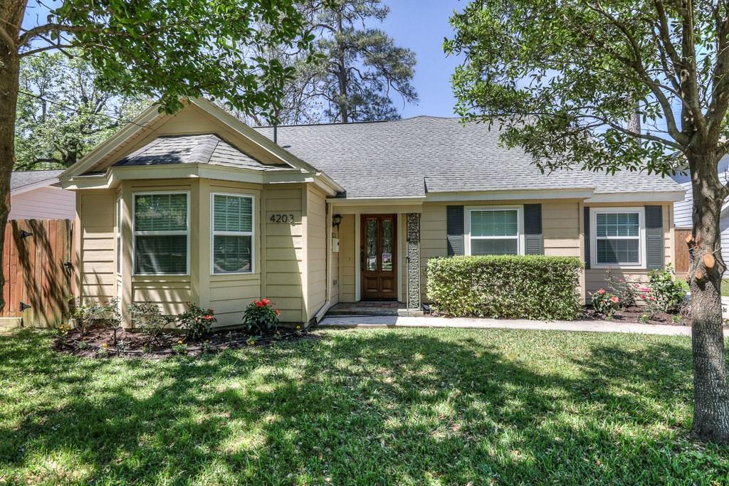 This home is located in the heart of Garden Oaks!  Recently remodeled to include gleaming hardwoods, granite counter tops, and new interior paint. Very Large rooms including your master bedroom hideaway upstairs!  Also upstairs is your game room/office/computer room! You will love entertaining in your new home!  Lots of space to move around.  Backyard is fenced and is large enough for that pool you always wanted! Separate utility complete with built in ironing board!  This house will make a great home for you!