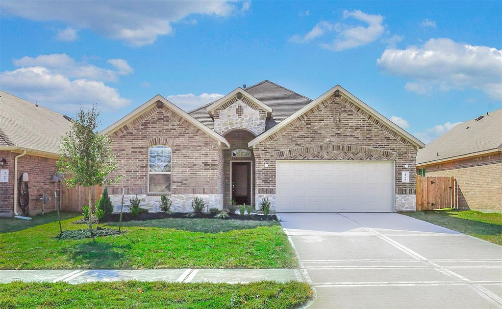 It's a rare opportunity to live in a new construction never lived in home at Hampton Creek.  Surrounded by Nature Preserve! -- Less than two miles from 99 Grand parkway and 10 min from the Woodlands. Zoned to Klein ISD (highly acclaimed French elementary and New, Just opened In 2018 Hofius intermediate) Cool de sac, covered patio featuring backyard with no Back neighbors. Open floor, huge granite countertop, white kitchen cabinets. Brand new Frigidaire  appliances, refrigerator washer and dryer are also included. The community also has a beautiful recreation area with play equipment for toddlers and up, large covered pavilion for picnics, adult and separate kiddie pools with changing area!Highlights include Near great restaurants and family fun! Convenient to Grand Pkwy & I-45 Community Playground, Pool & Pavilion