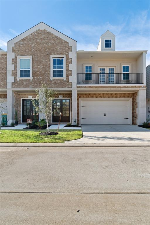 FREE RENT DECEMBER 2018! NEWLY CONSTRUCTED GATED townhome with gray color palette. Beautiful wood & glass double door entry into spacious foyer. WOOD FLOORS downstairs. Gorgeous kitchen w/LOTS OF CABINETS, STAINLESS appliances, GRANITE countertops, breakfast bar + eating area (REFRIGERATOR INCLUDED). OPEN CONCEPT family room w/HIGH CEILINGS + BONUS ROOM (use as media room, study/office, playroom, crafts, exercise room). Upstairs: HUGE master, 2 LG SECONDARY BEDROOMS & 2nd full bath. Master w/crown molding, SITTING AREA & DOUBLE FRENCH DOORS open onto COVERED BALCONY. Ensuite w/DOUBLE SINKS, oversized shower & SOAKING TUB. Utility room is conveniently upstairs (WASHER/DRYER INCLUDED). BLINDS BEING INSTALLED. 300 Mpbs high speed internet & home security included. Walking distance to GREAT SCHOOLS, pools, tennis, basketball, playgrounds, shopping & restaurants. Zoned to new GRAND OAKS HIGH. 10 minutes to Exxon, 15 to The Woodlands, 20 to the airport. NO FLOODING.