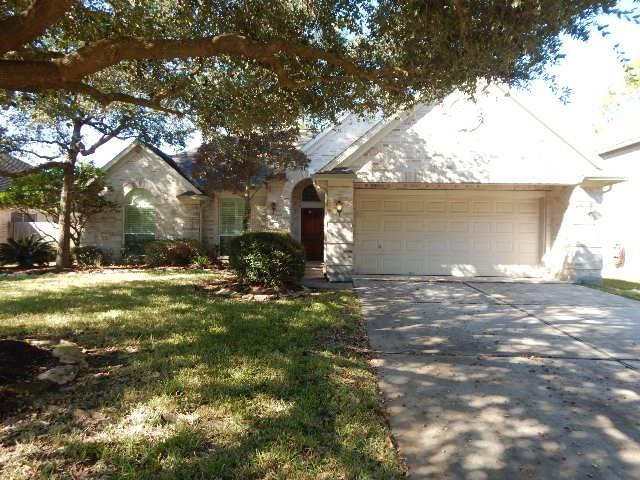 Offered by Homesteps - Great one story in Cypress Mill Estates. Open floor plan with fireplace. Spacious kitchen with plenty of storage. Study with french doors for privacy.  Large master suite with garden tub and seperate shower.  Plantation shutters and crown molding, flagstone patio. Fresh paint and ready for move-in.  Walking distance to park. Neighborhood offers pool, tennis courts, walking trails, golf course, rec center and more. Very near Grand Parkway and area restaurants, entertainments and more.