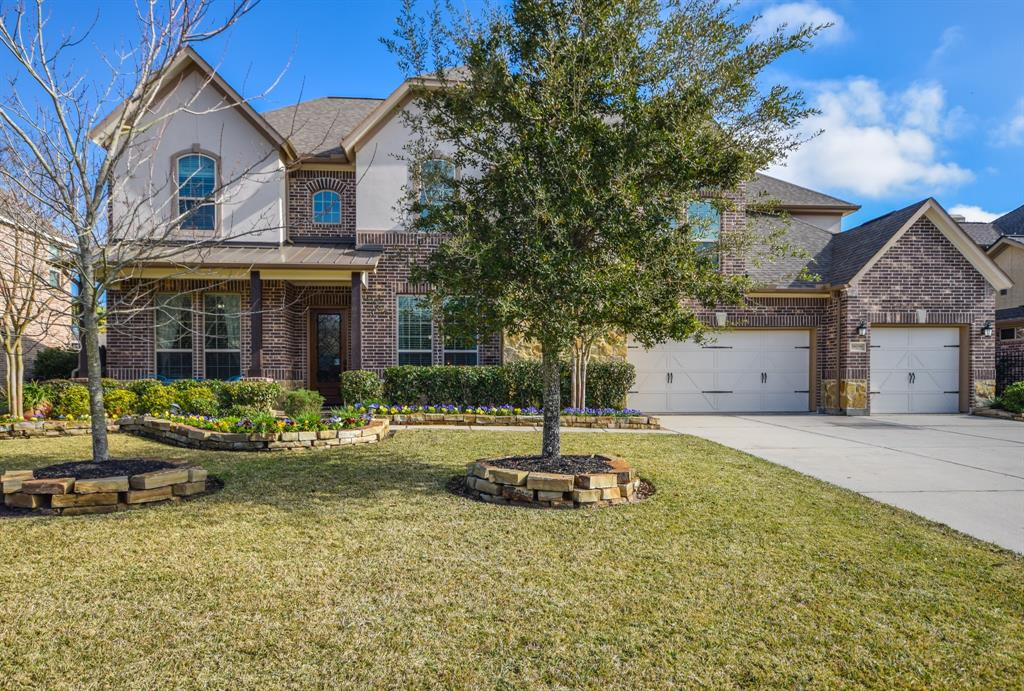 THIS IS THE ONE YOU HAVE BEEN WAITING FOR ! Located in the GATED Northlake section of Gleannloch Farms!! This is a HIGHLY DESIRABLE CAPRICCIO FLOOR PLAN located on a massive lot, 5 bedrooms, 4.5 baths, 2 bedrooms down, 3 car garage, neutral colors, study w/french doors, craft room w/french doors, game room &  media room.  From the moment you enter you will be blown away w/impressive soaring ceilings in formal dinning, kitchen & living area. This pristine home also offers huge kitchen w/expansive island, tons of cabinets, spacious laundry room, creative kids nook w/sitting area under the stairs, beautiful wrought iron stair case railing & so much more ! The backyard is absolutely amazing w/large covered outdoor kitchen, living area, gas fireplace, pool, spa, separate kids play area, no back neighbors & LOTS of extra room to run.  Gleannloch Farms offers a 27 hole golf course, equestrian center, 3 pools, tennis, parks, fitness center, bark park, fishing lakes, canoes & athletic complex !