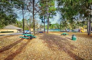 Picnic area at community park.