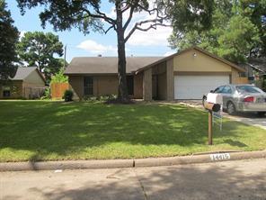 14415 CROSSHAVEN, Houston, TX, 77015