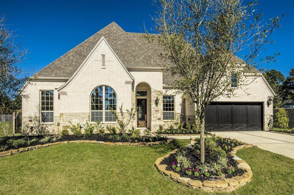 MLS# 66581357 - Built by Highland Homes. Ready Now! ~ This home was not affected by Hurricane Harvey. Oversized covered patio with pool-sized backyard on cul-de-sac street in gated boutique community.  This 1-story home features a luxurious owner's retreat with wood floors and a master closet that opens to utility room.  Sunroom and walk-in closets in every bedroom provide ample storage space.  Great location off Spring Cypress provides easy access to major thoroughfares.