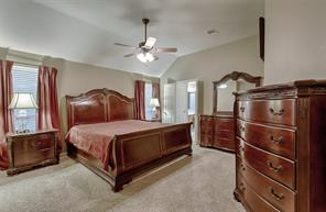 Your master bedroom is huge 20x15 - this is a King size bed set.