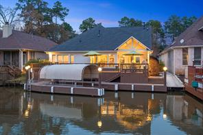 Perfect waterfront home located in the Bentwater Community on Lake Conroe.