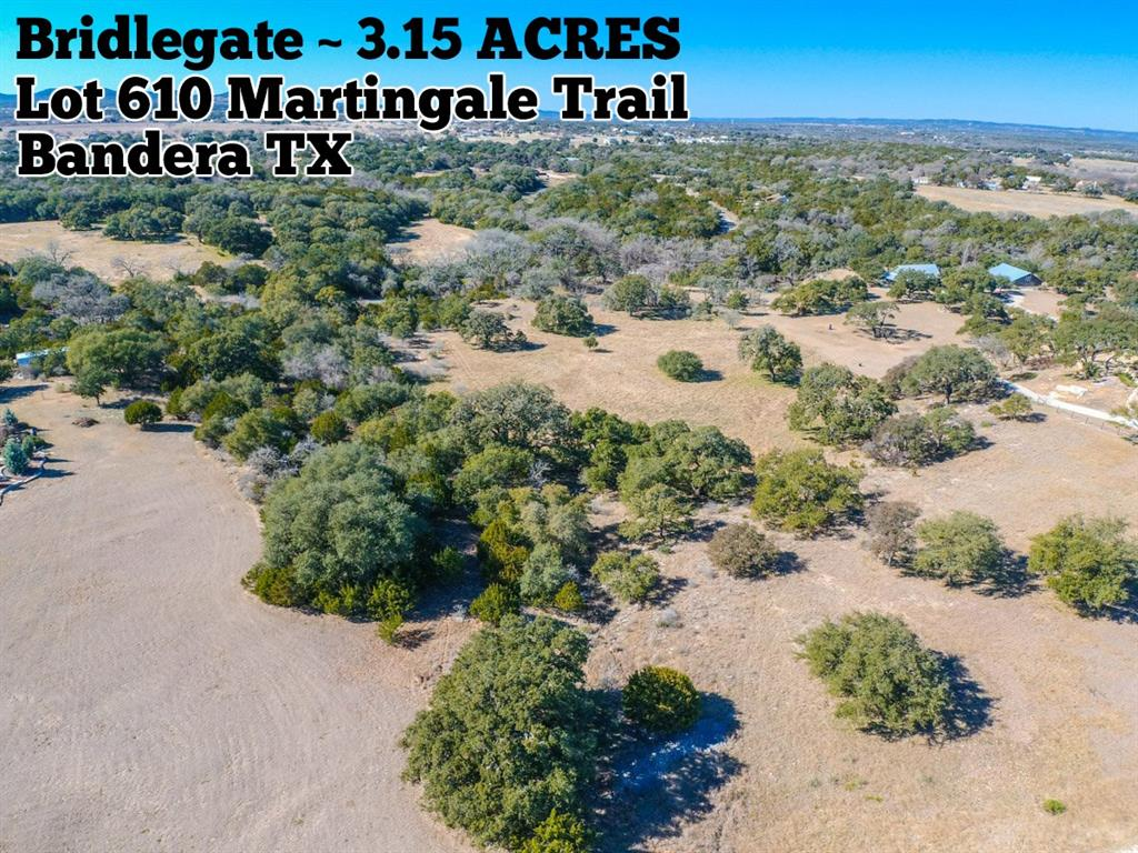 Lot 610 Martingale Trail, Bandera, TX 78003