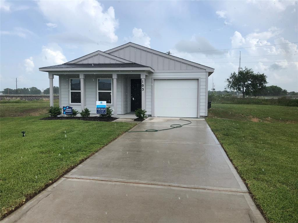 Completion date is August 2019. 1201-B NEW single-story garage home! The home has an open great room and kitchen. The owner's suite has a private bathroom and walk-in closet. Additionally, there are 3 more bedrooms and another full bath! Haggle free pricing. No negotiation necessary. Lowest price guaranteed.