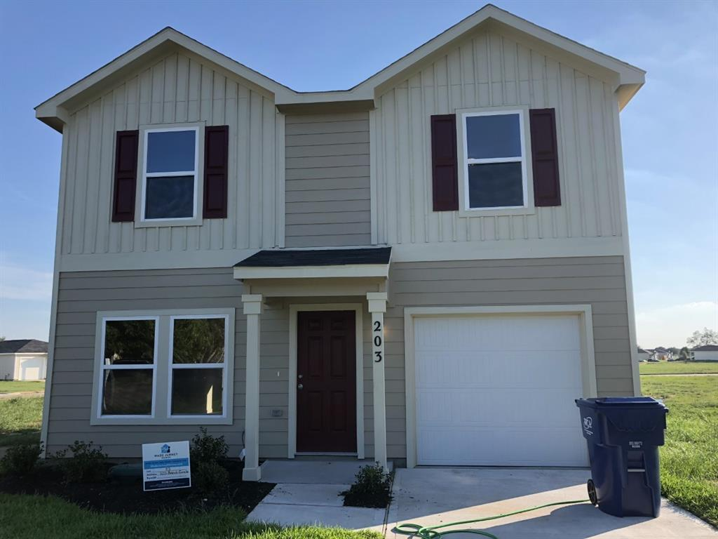 Completion date is September 2019. 1401-A NEW 2-story garage home! The main floor has an open great room and dining area that lead into a spacious kitchen. Upstairs is the owner's suite with private bath and walk-in closet as well as 2 more bedrooms and another full bath. Haggle free pricing. No negotiation necessary. Lowest price guaranteed.