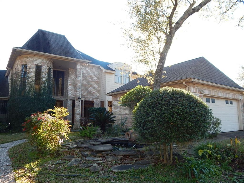 Offered by Homesteps - Spacious floor plan offering large family room with fireplace, formal dining and study. Upstairs gameroom and 3 bedrooms.  Downstairs study would make a great additional bedroom. Home flooded in Harvey.  Sheetrock and flooring removed on 1st floor. Marketed in present condition.