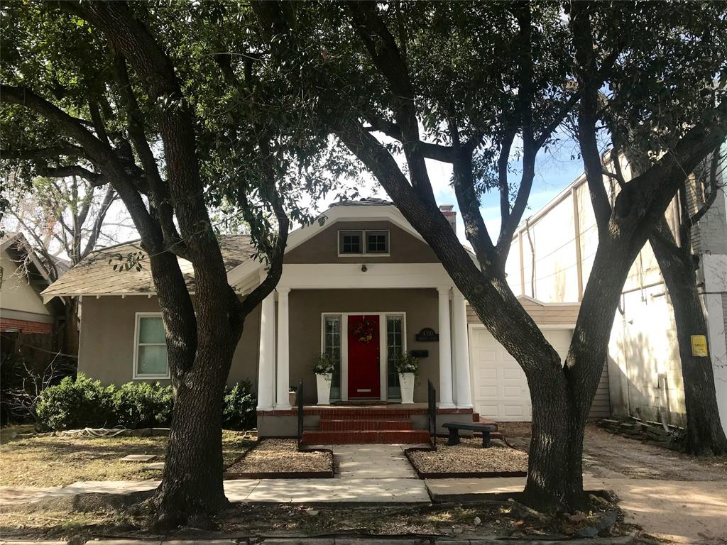 LOCATION!! LOCATION!!! LOCATION!!! Minutes from downtown, midtown, medical center, galleria and sporting events. Historic 3 bedroom home with 2 full bathrooms in the heart of the city! 3rd bedroom could be a study, library or office space. Lots of natural light! HUGE yard perfect for dogs and/or entertaining! Comes with a refrigerator, washer and dryer! Separate living, dining and kitchen areas with French Doors!
