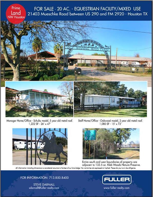 21403 Mueschke Road, Tomball, TX 77377