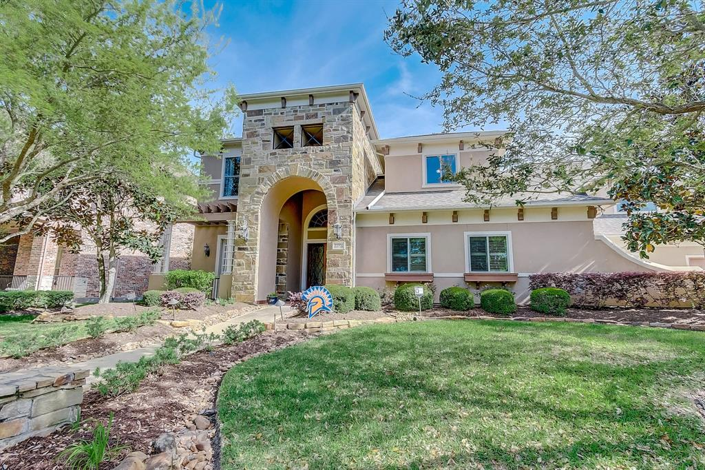 STUNNING CUSTOM HOME in SEVEN MEADOWS w/2 bdrms down! LOWEST PER SQ FT PRICE IN THE AREA-! Perfectly located- just minutes from I10, 99 and the Westpark Toll, zoned to the acclaimed 7 Lakes HS! Completely remodeled gourmet kitchen is a chef's dream w/dble ovens & TONS storage! Gorgeous wood floors, a huge family room filled w/light, giant windows & soaring ceilings- perfect for entertaining! Private gym w/cork flooring just off the master, beautiful 2nd study upstairs w/built-ins so everyone has their private space. Game room is ready for fun w/a wet bar and a lovely balcony for enjoying your morning coffee. The luxurious master suite has his/hers huge closets, & the very special Vitabath tub is the perfect spot to relax and recharge your batteries after a long day. Backyard oasis has a three seating areas, a huge covered area.  Pool has a rock slide, grotto and an amazing heater- heat your entire pool like a hot tub for just $7/day!  NO FLOODING! You MUST SEE THIS HOUSE TO BELIEVE IT!