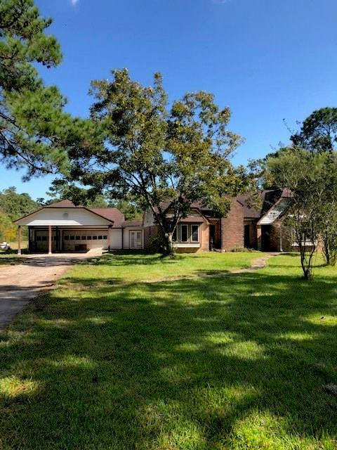 Country home with over 3 acres.  Ready to be brought back to life.  Over-sized deck with pool.