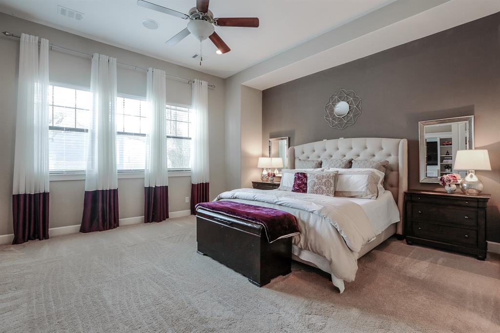Master bedroom is sizeable, with so much light. Make this space your own!