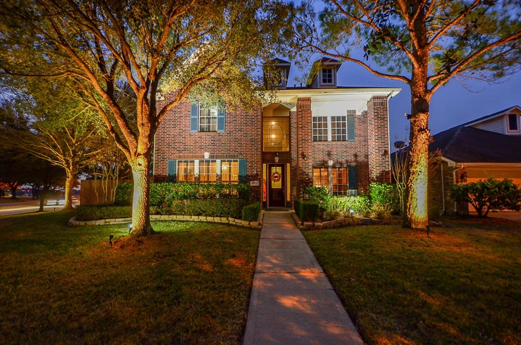 A Beautiful Custom 3 Story home located in the Master Planned Community of Stone Gate. Conveniently located near Sterling Lake Golf Course, a Recreation Center, Clubhouse, Tennis Courts & Splash Pad. This house sits on a Corner Lot with 3-Car Garage, POOL, Outdoor Kitchen & Patio. The Owners added a bathroom outside for easy access to the Pool! The First Floor consists of Formal Living, Formal Dining with hardwood floors, Family Room & oversized Island Kitchen with Granite Counters, Master Bedroom with Bathroom and Powder Room. The Second Floor has 4 bedrooms and 2 Full Adjoining Bathrooms with open Gameroom area. The Media Room/ Enclosed Gameroom is located on the Third Floor. This Home is newly painted and is Move-In Ready!