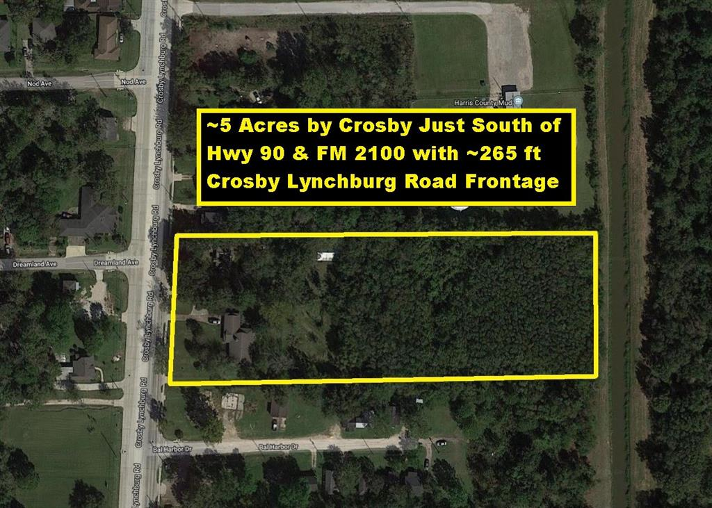 12802 Crosby Lynchburg Road, Crosby, TX 77532
