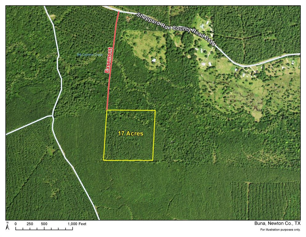 17 Ac Off CR 3114, Deweyville, TX 77612