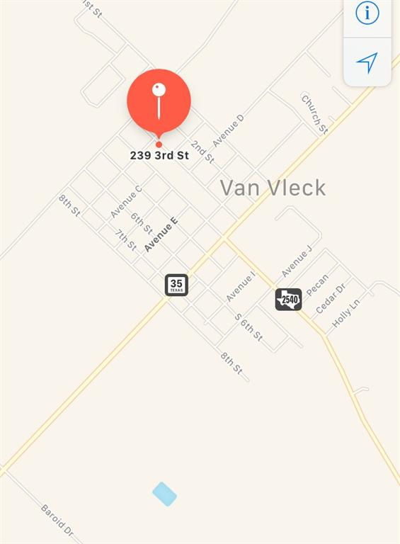 239 3rd Street, Van Vleck, TX 77482
