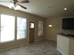 Family open to Kitchen/Dining Area