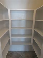 Spacious U shaped pantry