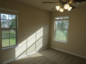 3rd Bedroom upstairs with gorgeous views of Golf Course
