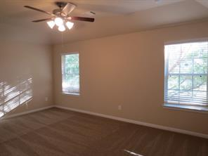 Master Bedroom with beautiful views of Walden Golf Course