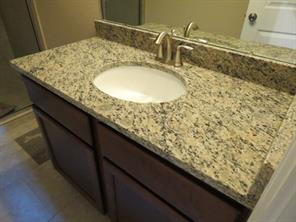 Master Bath Vanity with Granite and Undermount Sink