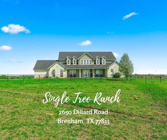 2650 Dillard Road, Brenham, TX 77833