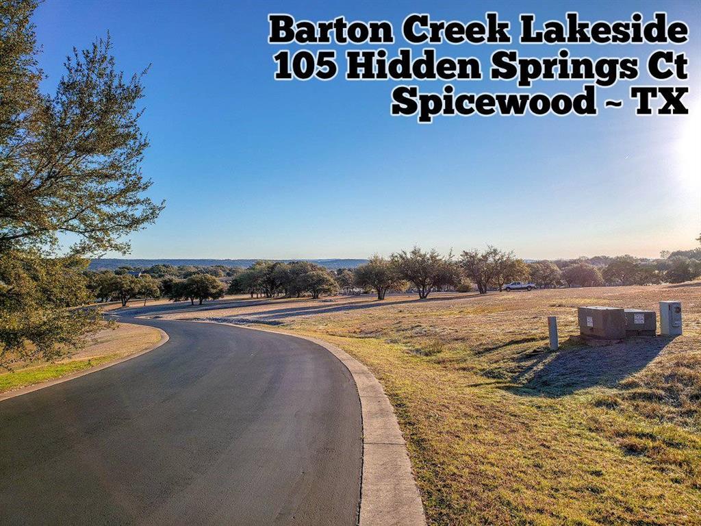 105 Hidden Springs Court, Spicewood, TX 78669