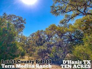 Lot 51 County Road 311, D'Hanis TX 78850