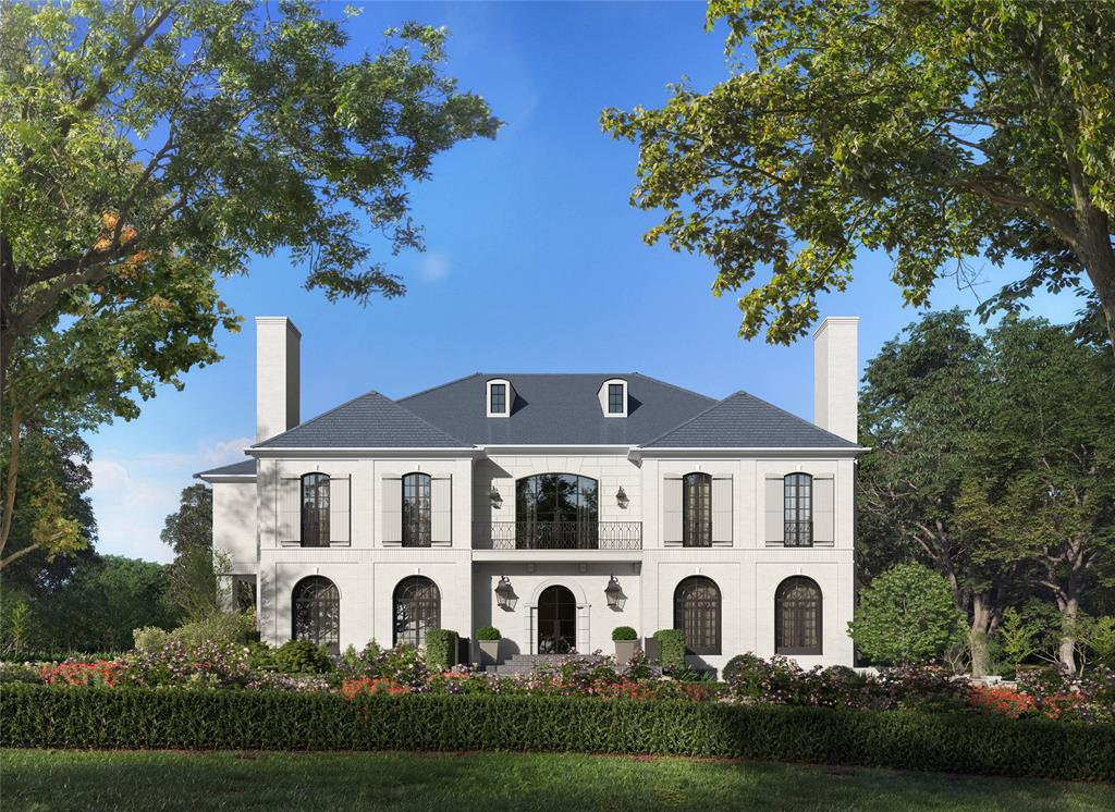 Resting high on an expansive Tall Timbers lot, this 9,555 sf estate will be a new icon on the most beautiful street in Houston. Currently undergoing a complete renovation, the visions of 3717 Willowick are of superior workmanship, luxury finishes, & immaculate design by Thomas O'Neill Homes. The timeless symmetry of the front façade includes an iron balcony and oversize window system above the entrance; a playful mixture of the traditional & modern that continues in the interior spaces. An impressive study of discriminating style & functionality, the home is perfect for large-scale entertaining as well as comfortable living. Inside the light-filled home, walls of iron & glass windows illuminate stately formals & maximize views of the wooded lot & unique ravine topography. Additional features include new owner's retreat, new kitchen, large bedrooms, media room, family room, & expansive flex space. Pre-completion customization is available; please see listing agent.