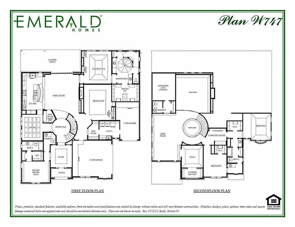 Emerald homes floor plans houston gurus floor for Emerald homes floor plans