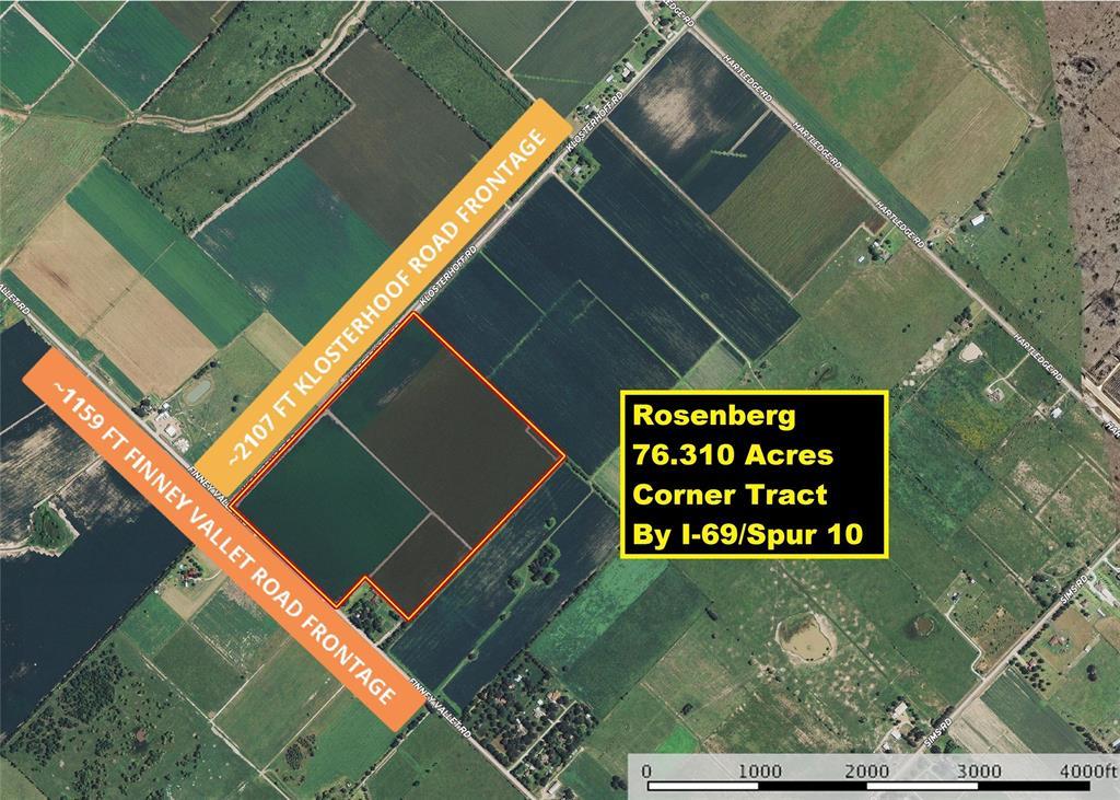 0 Finney Vallet and Klosterhoff Road, Rosenberg, TX 77471