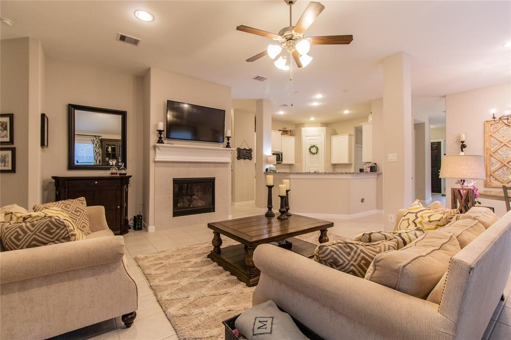 """Beautiful one story home located in sought after community of Sawmill Ranch. This lovely one story home is filled with tons of upgrades. Stainless steel, granite counters in kitchen, ceiling fans in all bedrooms, high ceilings, open concept, 2"""" blinds, plenty of room for the whole family and a covered patio area out back. Located minutes from the Grand Parkway and 45, your commute times are a breeze whether you are heading in town or to The Woodlands. You and the family can enjoy dining and shopping in the ever expanding Grand Parkway Plaza. Klein ISD. Fridge Included"""